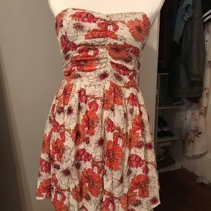 Forever21 floral mini dress size small